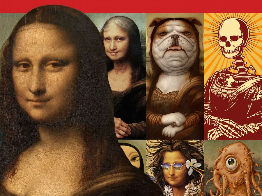 Mona Lisa Reimagined Featured on 3X3 Magazine