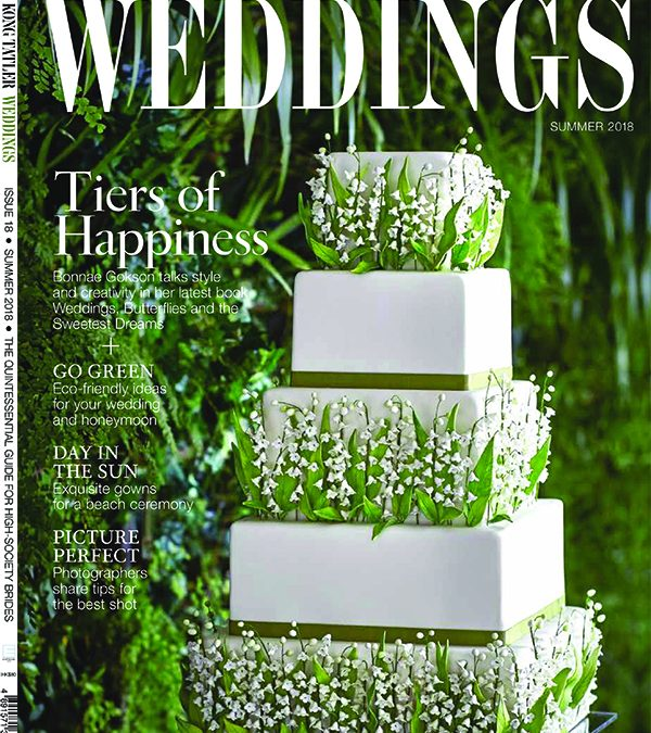 Weddings, Butterflies & the Sweetest Dreams is Featured in Hong Kong Tatler Weddings Issue 18