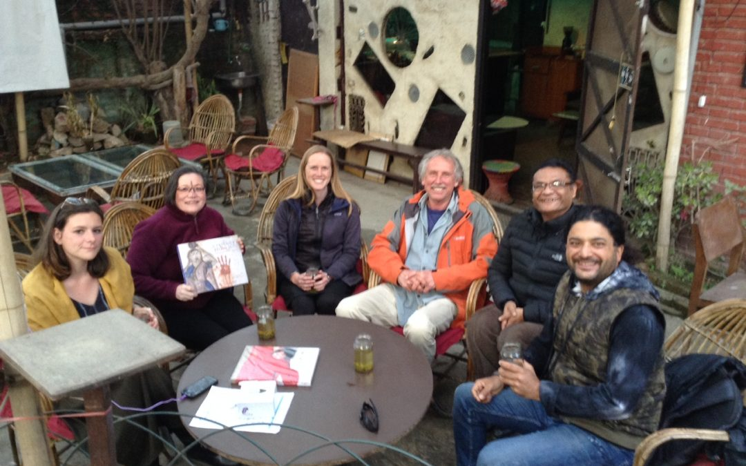 Divaid Zurick presenting A Fantastic State of Ruin to NexUs Culture Nepal