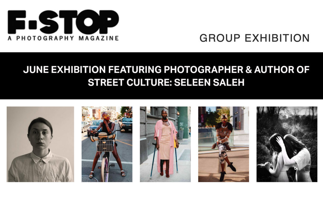 Photography from Seleen Saleh's Street Culture are featured in F-Stop Magazine