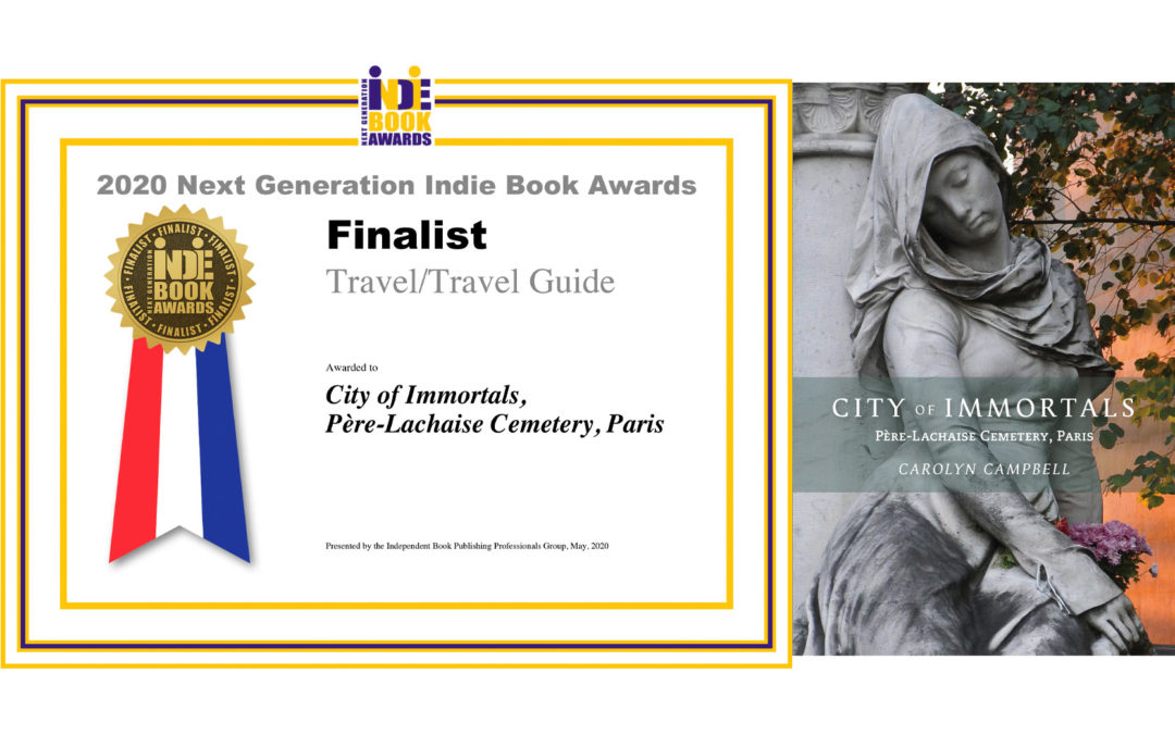 City of Immortals is a finalist in the Next Generation Indie Book Awards